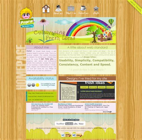 web page design ideas web portfolio bigbracket