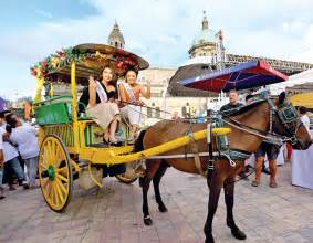 philippine kalesa beauties in intramuros manila bulletin news