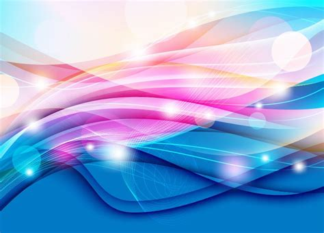 color waves color waves design abstract vector graphic free vector