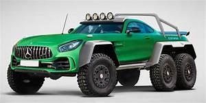 Pick Up Mercedes Amg : this monstrous mercedes makes 6x6 concept trucks an official trend maxim ~ Melissatoandfro.com Idées de Décoration