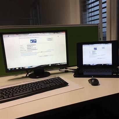 Bildschirm Laptop Als Einstellen Monitor Hauptbildschirm Pc