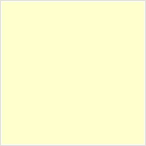 creme color ffffcc hex color rgb 255 255 204 yellow green