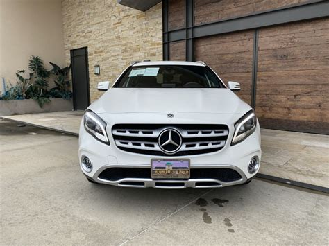 Use for comparison purposes only. Certified Pre-Owned 2019 Mercedes-Benz GLA GLA 250 Front Wheel Drive SUV