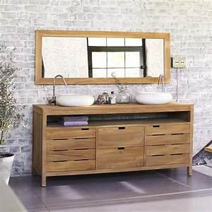 miroir teck leroy merlin avec meuble de salle de bains With leroy merlin meuble salle de bain teck