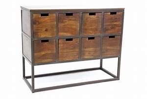 Meuble En Fer : meuble de bureau fer ~ Teatrodelosmanantiales.com Idées de Décoration
