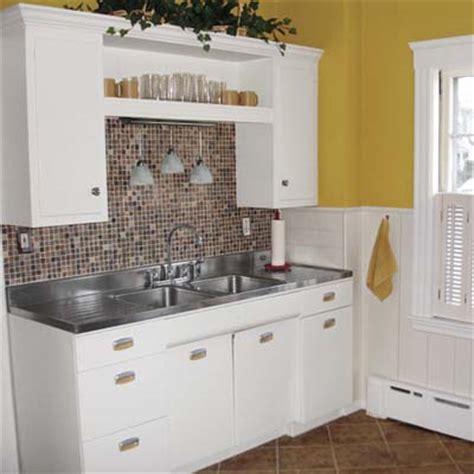kitchen remake ideas small kitchen remodel featuring slate tile backsplash