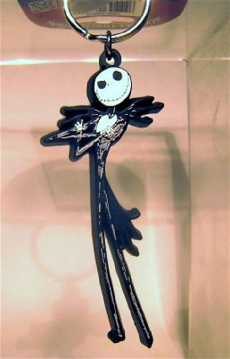 jack skellington full body soft touch keychain monogram   keychains collection disney
