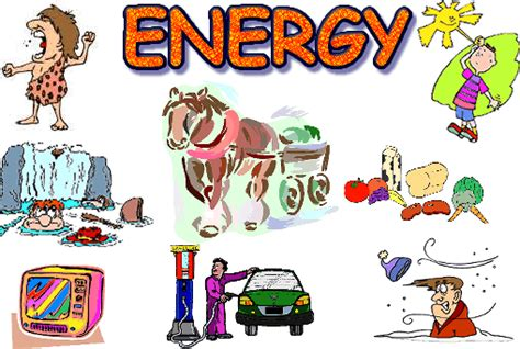 Different Types Of Energy