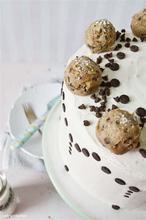 Kitchen Essentials Cookie Dough by Curly Kitchen Chocolate Chip Cookie Dough Cake