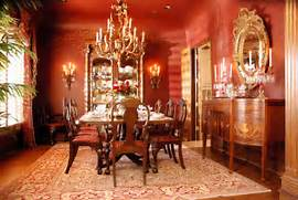 Red Formal Dining Room Traditional Dining Room Sherwin Williams Kilim Beige SW 6106 DiningRoom PaintColor HbD Breakdown Toronto Maple Leaf Jerseys Hockey By Design Formal Silver Leaf Dining Room Traditional Dining Room San Diego