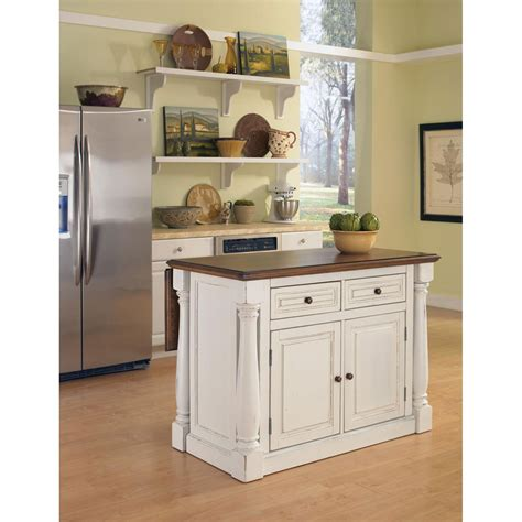 island kitchen cabinets monarch antique white sanded distressed kitchen island