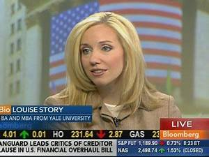 NYT's Goldman Scoopster, Louise Story, Joins Bloomberg TV ...