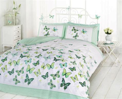 Cotton Duvet Sets King by Superb Trendy Funky Cotton Butterfly Green King Size Duvet