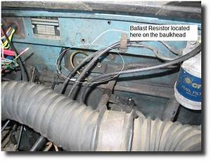 Fuel Pump Ballast Resistor Is Placed In The Circuit