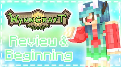˜�minecraft  Wynncraft Adventure  Review & Beginning