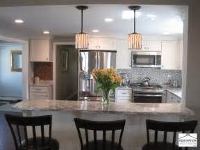 galley style kitchen with island transitional kitchen renovation and design