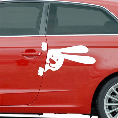 cuisine un lapin stickers et autocollants voiture sticker lapin