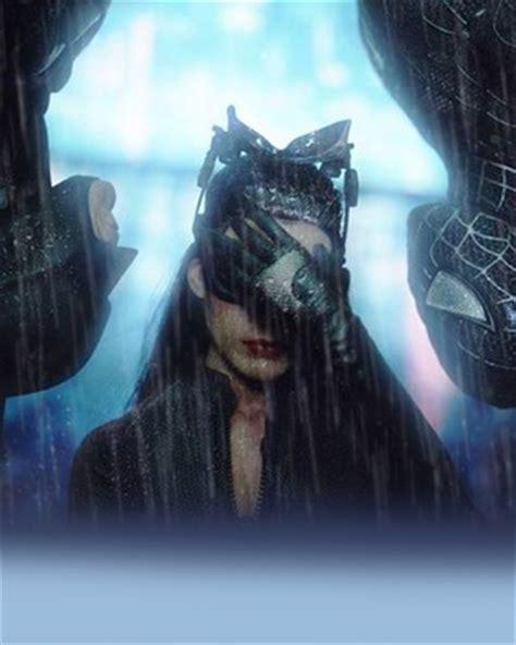 awkward catwoman batman  spider man hot toys scene
