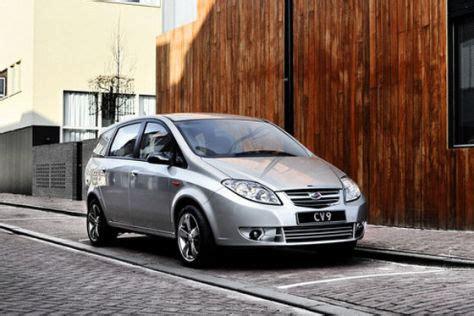 landwind cv minivan aus china autobildde