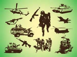 Military Vector Art Graphics
