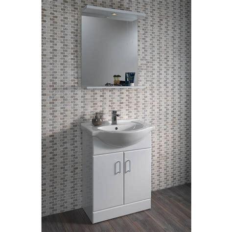 55 vanity unit basin plumb bathrooms