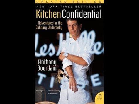 anthony bourdainkitchen confidentialaudiobook sample youtube