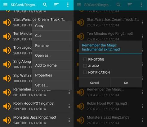 android ringtones how to add your own ringtones and notifications sound on