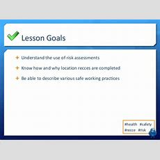 Lo2  Lesson 10  Health & Safety