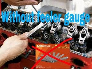 Tata Engine Valve Timing Setting Without Feeler Gauge