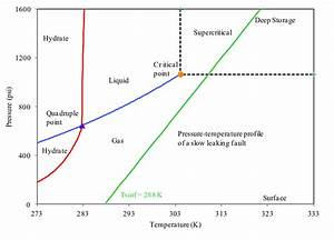 Phase Diagram Of Pure Co2 Is Shown Here  Liquid And Gas