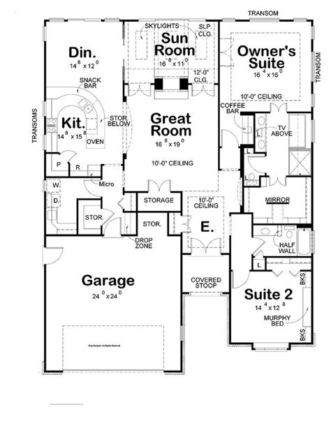 House Plans With Large Bedrooms by Simple Two Bedrooms House Plans For Small Home Large