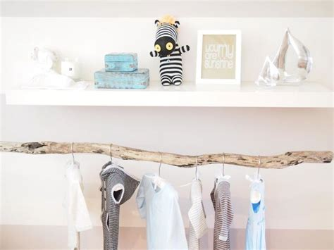 Branch Clothes Rod  Transitional  Nursery  Habitat And