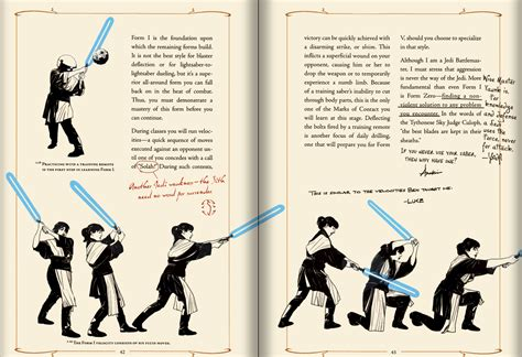 list of which jedi and sith knew which lightsaber forms