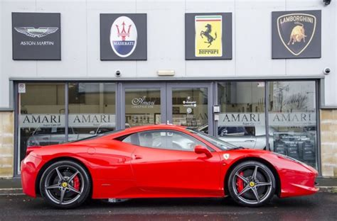 458 Italia For Sale by For Sale 458 Italia Lhd 2010