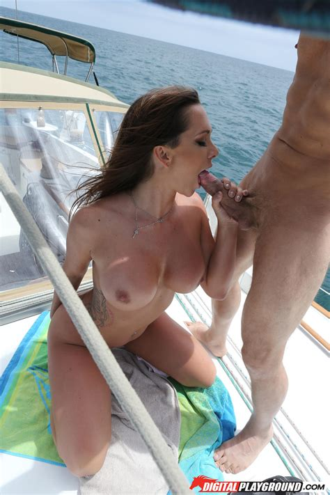 Busty Girl Is Getting Fucked On Yachts Photos Destiny