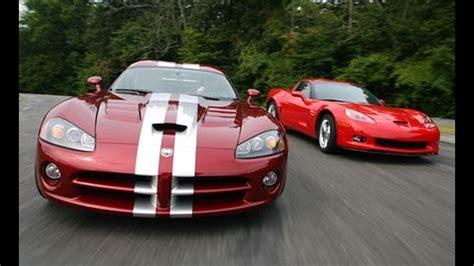 Dodge Viper Vs Corvette Z06 by Chevrolet Corvette Z06 Vs Dodge Viper Comparison Test