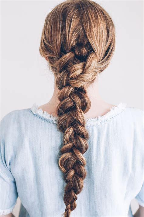 1000 Ideas About Single Braids Hairstyles On Pinterest