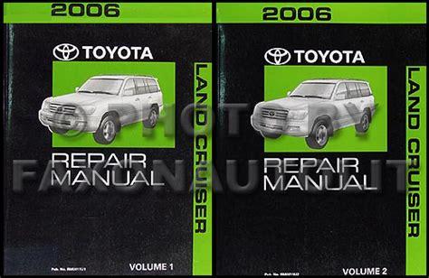 1994 toyota land cruiser repair shop manual original 2006 toyota land cruiser repair shop manual original set