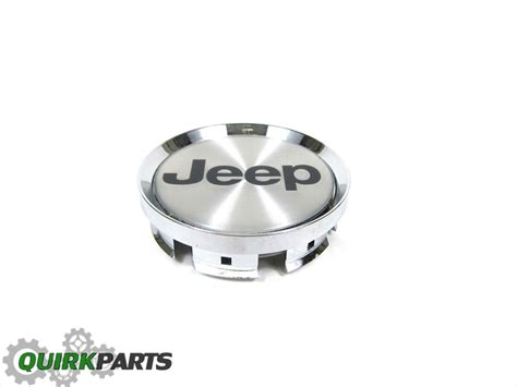 01-04 Jeep Grand Cherokee Center Cap Chrome With Black