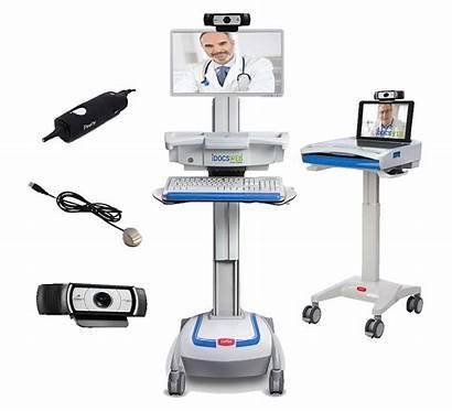 Telemedicine Equipment Nursing Skilled Telehealth Cart Started