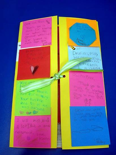 Thank Sticky Notes Note Card Cards Classroom