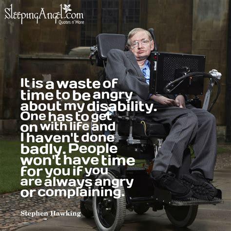 Stephen Hawking Quotes Stephen Hawking Quote Sleeping