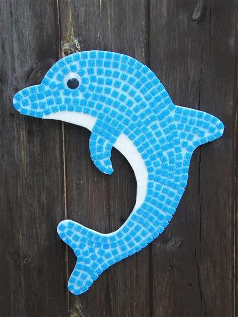 dolphin mosaic kit dolphin craft dolphin art mosaic kit