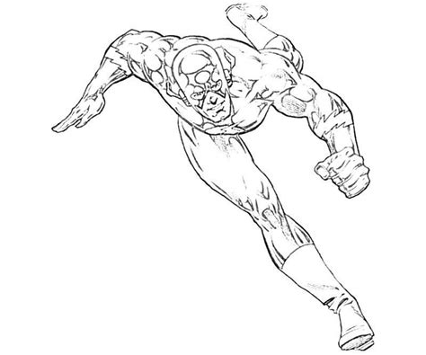 Get This Free Flash Coloring Pages 9tf1q