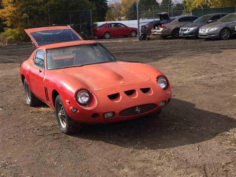 Gto 250 For Sale by 1974 250 Gto Replica Velorossa For Sale