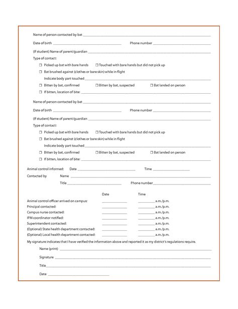 exle of a school incident report form tips on paper