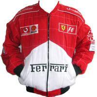 Infinity mens real suede leather retro vintage camel zip biker racing jacket washed nehru collar. Ferrari F1 Racing Jacket