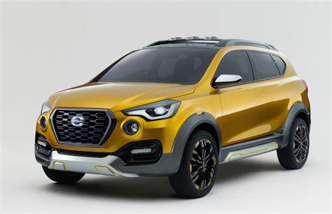 datsun  cross concept debuts  auto expo performancedrive