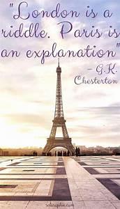 Paris is Always... Inspirational Paris Quotes