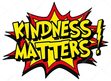 Explosion Bubble Kindness Matters